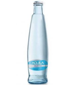 Aquilla neperlivá sklo 24x0,33l