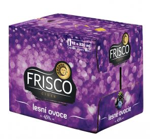 Frisco Lesní ovoce sklo 12x0,33l