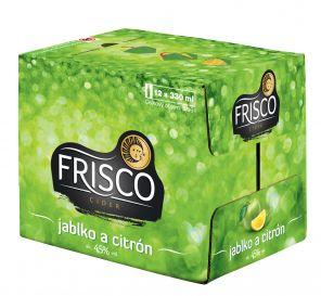 Frisco Jablko a citrón sklo 12x0,33l