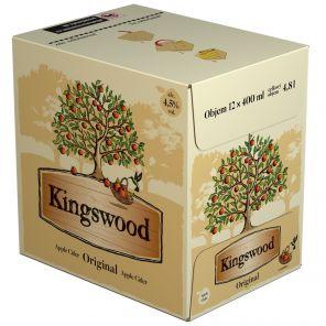 Kingswood sklo 12x0,4l