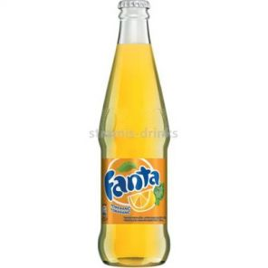 Fanta pomeranč sklo 24x0,33l